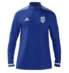 adidas club zone newcastle olympic fc midlayer 14 zip blue