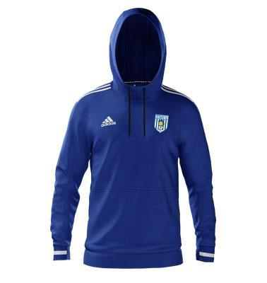 adidas club zone newcastle olympic fc team hoody bold
