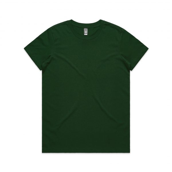 4001 maple tee forest green 1 1