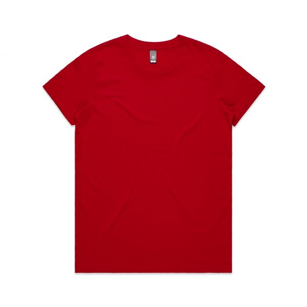 4001 maple tee red 1 1