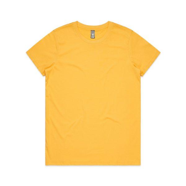 4001 maple tee yellow