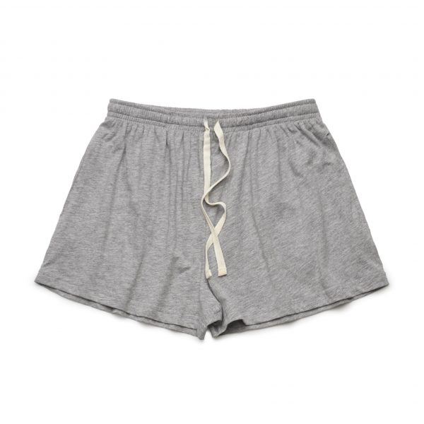 4038 jersey short grey marle front