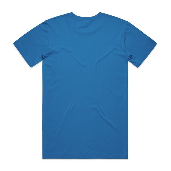 5001 staple tee arctic blue back