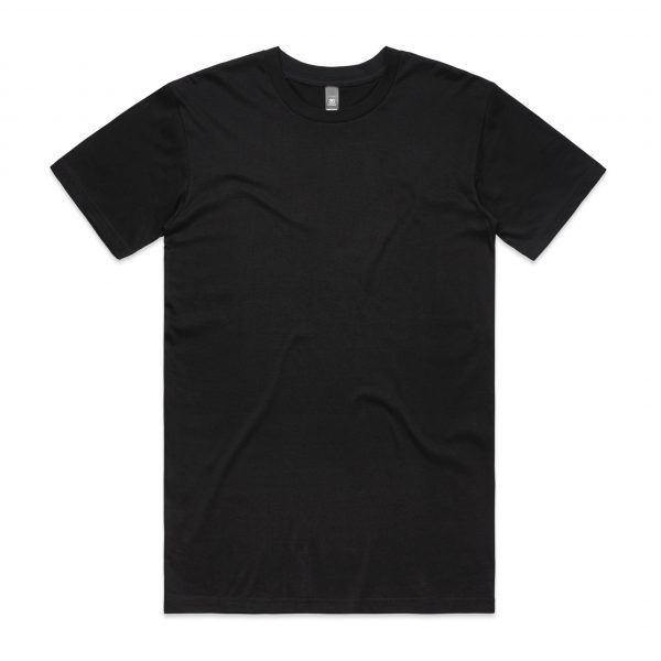 5001 staple tee black 2 3