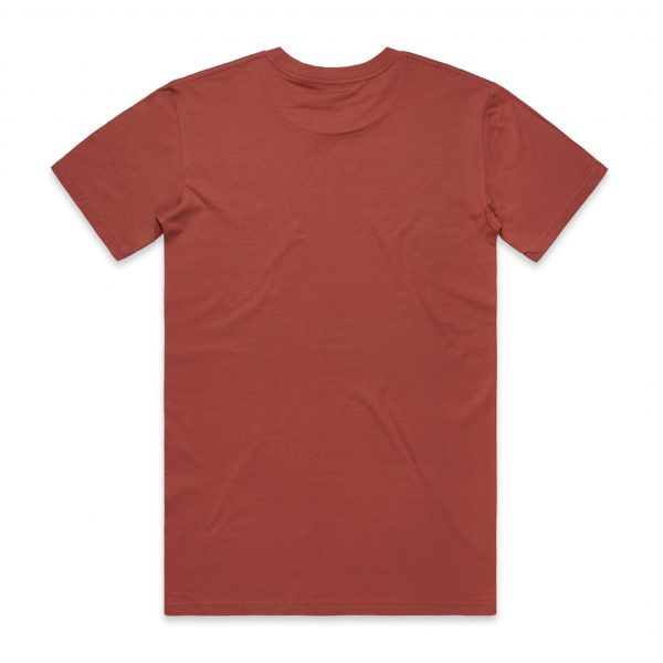 5001 staple tee coral back