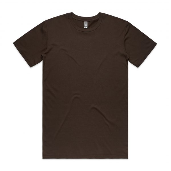 5001 staple tee dark chocolate 11