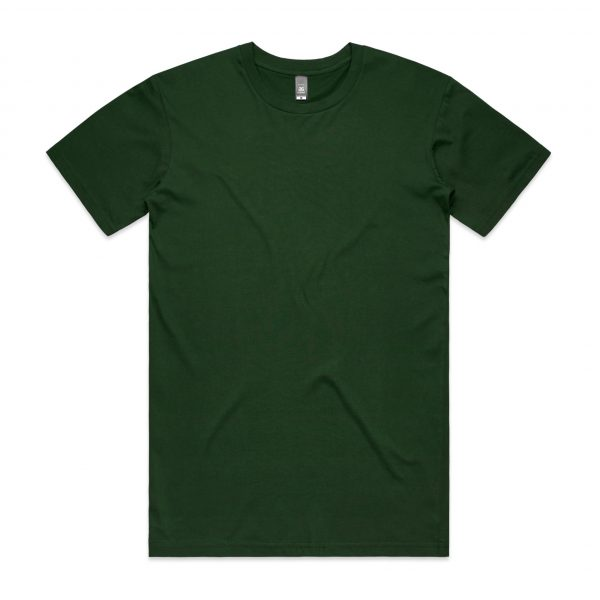 5001 staple tee forest green