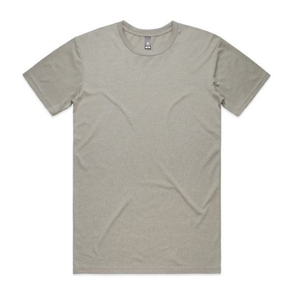 5001 staple tee light grey 6