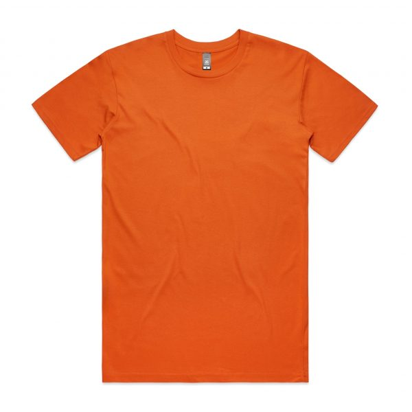 5001 staple tee orange 15