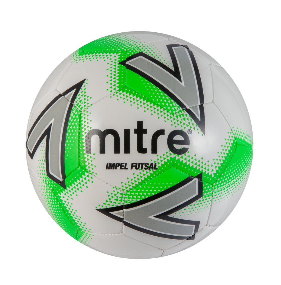 Mitre Impel Futsal — White/Green