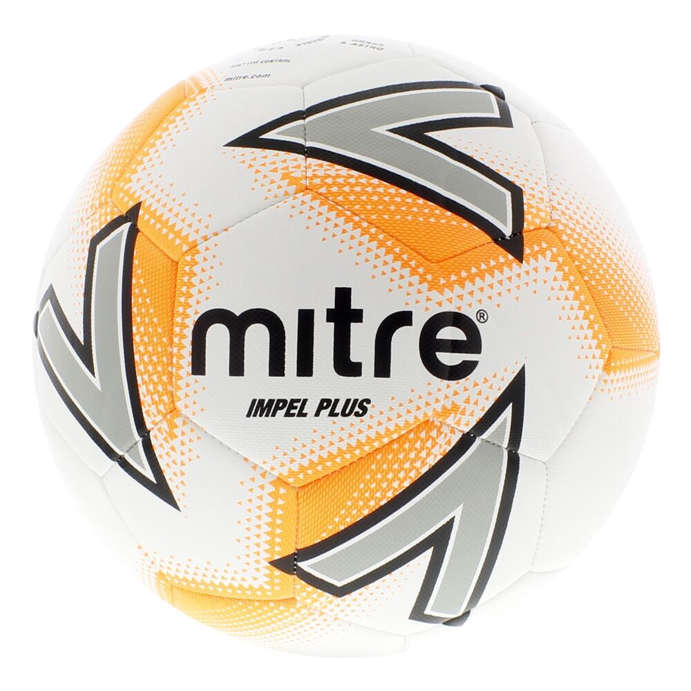 Mitre Impel Plus Training Ball — White