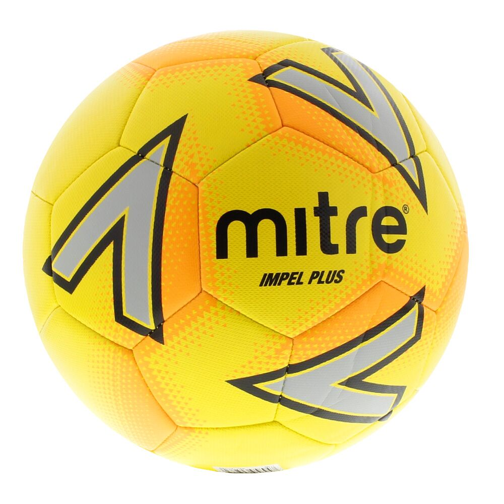 Mitre Impel Plus Training Ball — Yellow