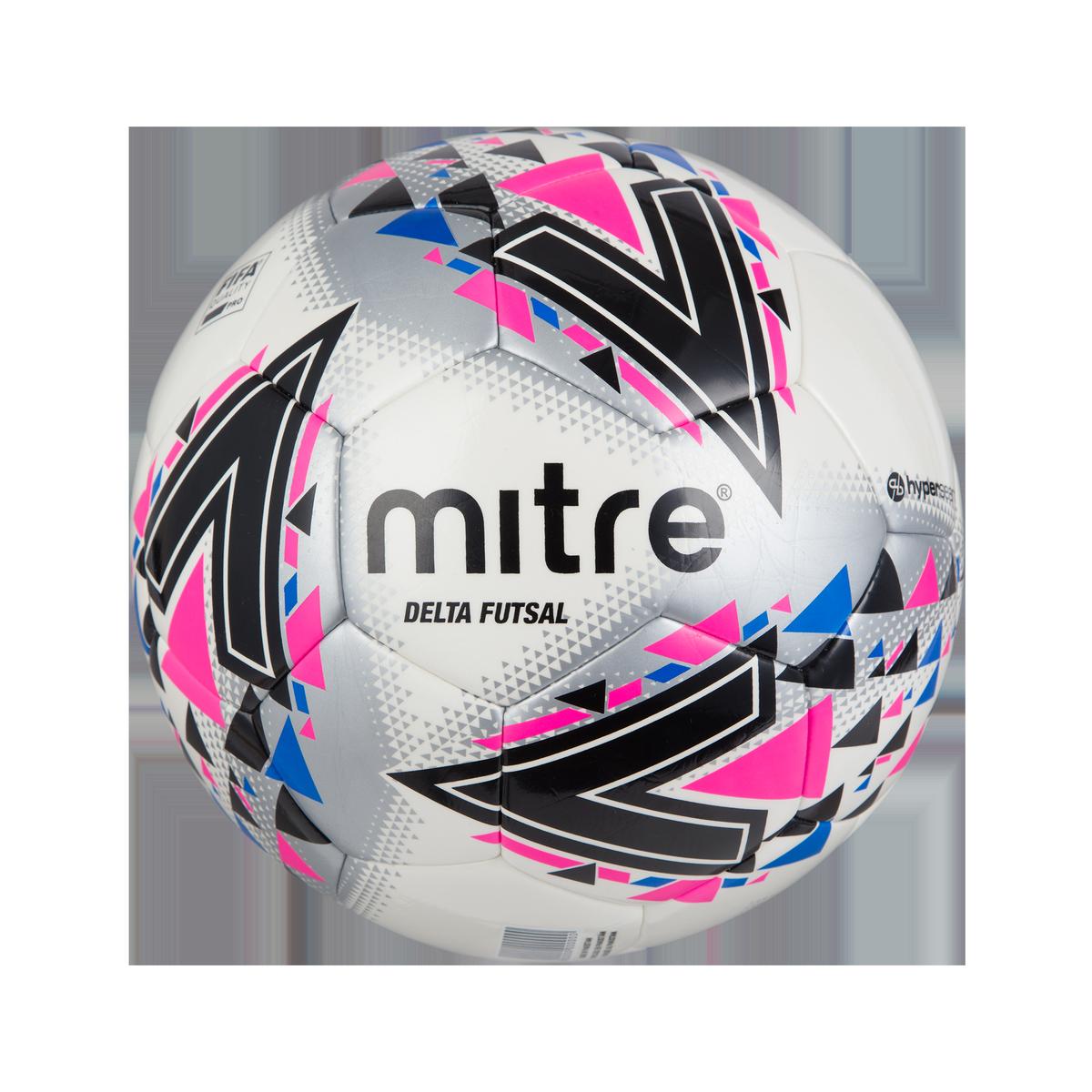 Mitre Delta Futsal — White/Pink