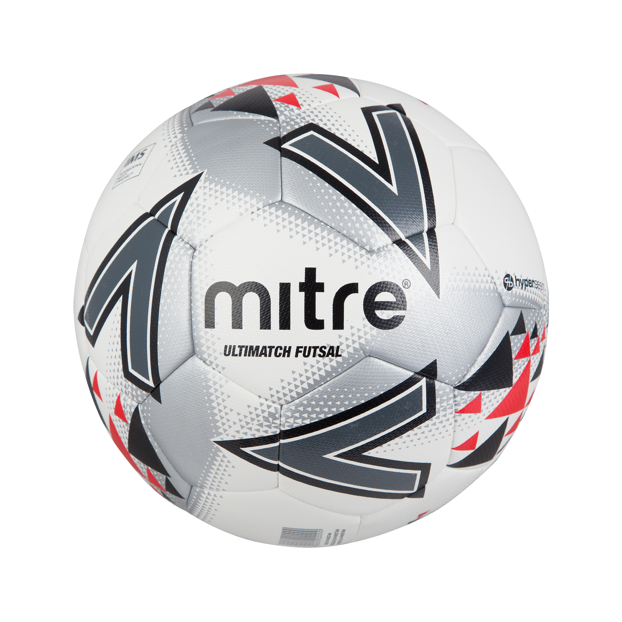 Mitre Ultimatch Futsal — White/Red