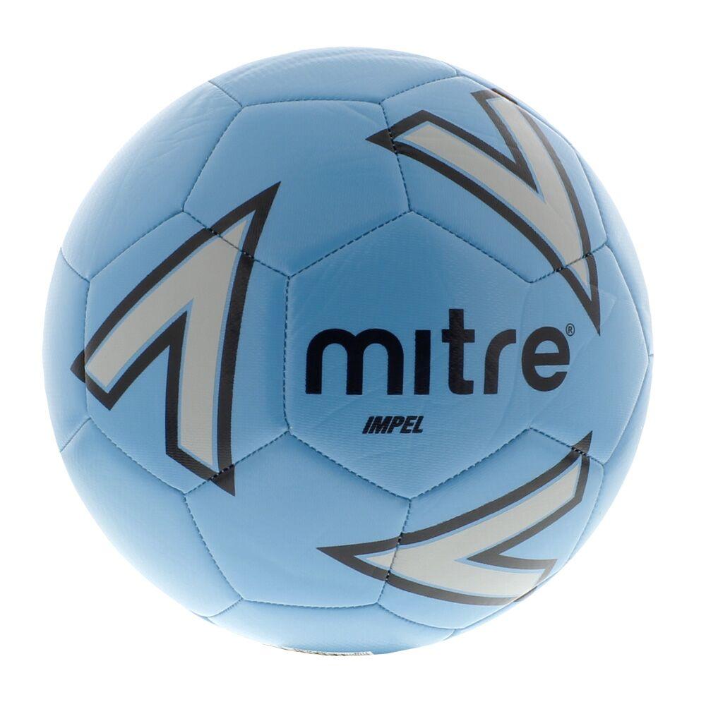 Mitre Impel Training Ball — Blue