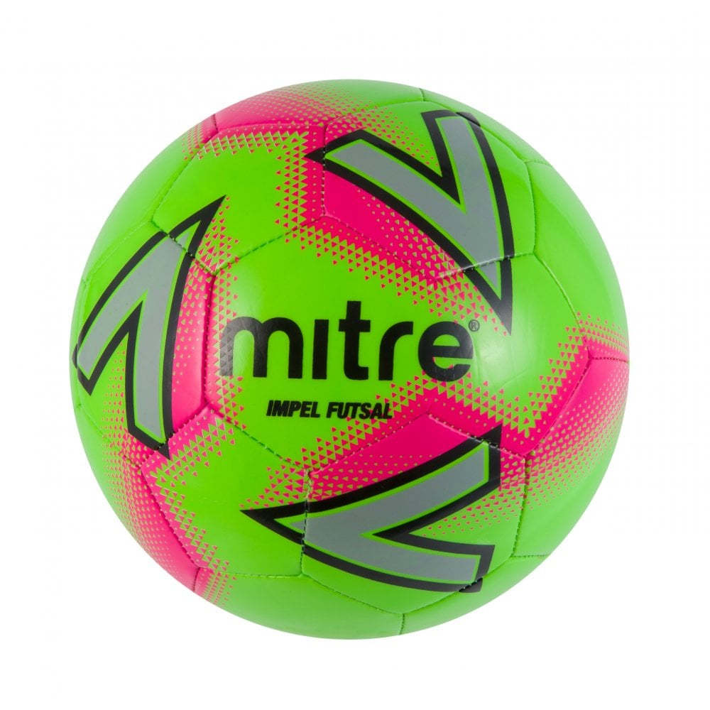 Mitre Impel Futsal — Green/Pink