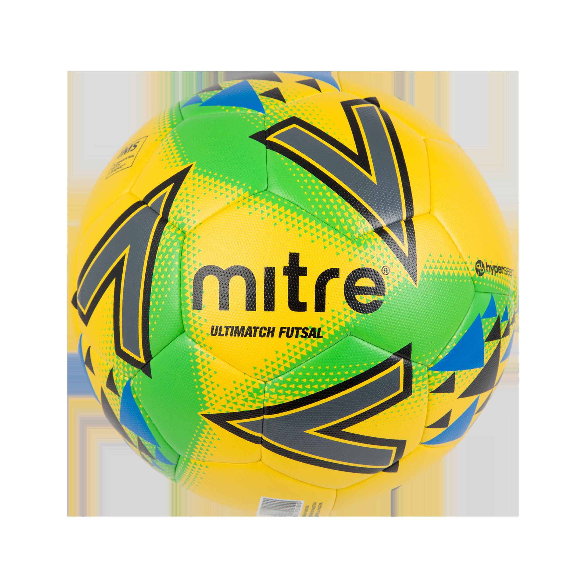 Mitre Ultimatch Futsal — Yellow/Green