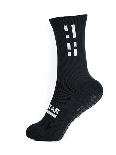Black Crew Sock 3