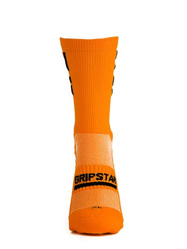 Orange Crew Sock 1