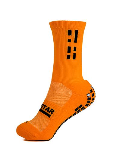 Orange Crew Sock 3