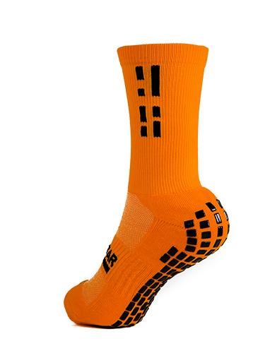 Orange Crew Sock 4