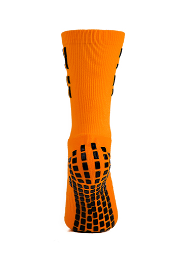 Orange Crew Sock 5