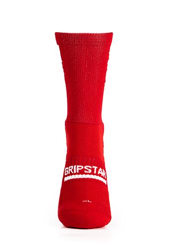 Red Crew Sock 1