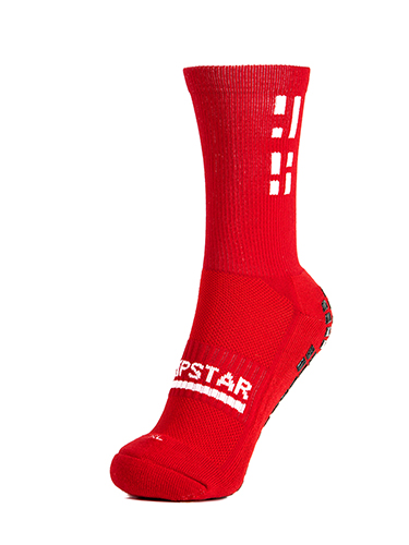 Red Crew Sock 2
