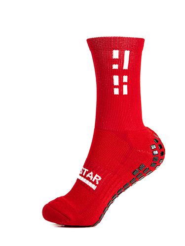 Red Crew Sock 3