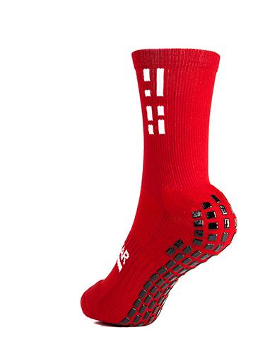 Red Crew Sock 4