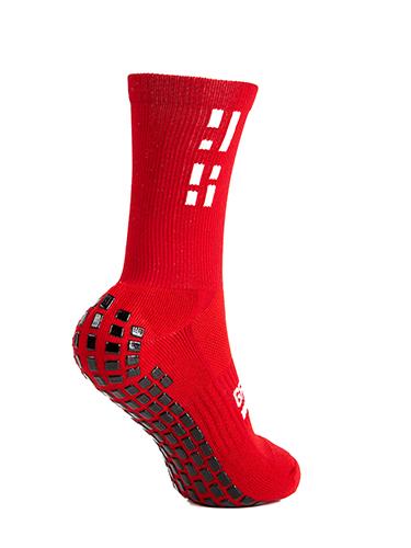 Red Crew Sock 6