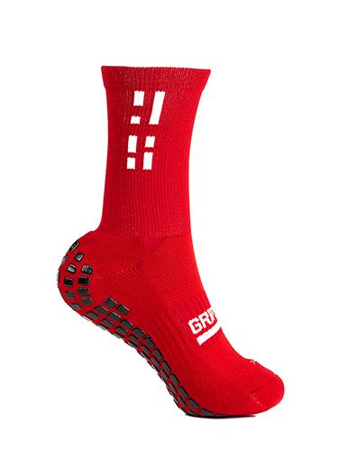 Red Crew Sock 7