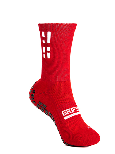 Red Crew Sock 8