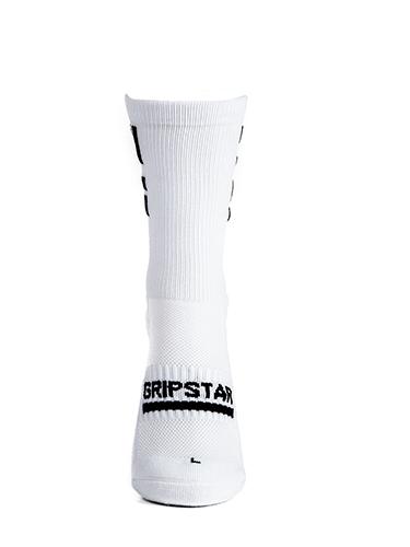 White Crew Sock 1