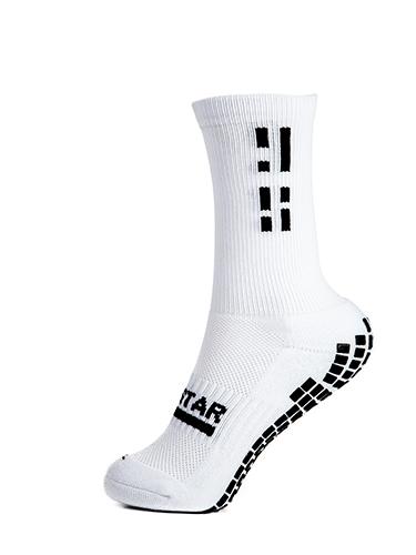 White Crew Sock 3