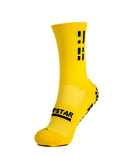Yellow Crew Sock 2