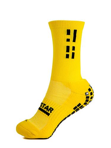 Yellow Crew Sock 3