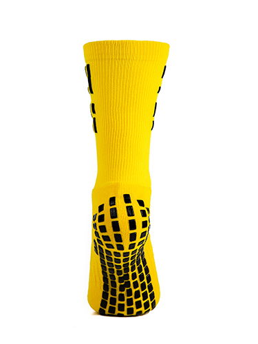 Yellow Crew Sock 5